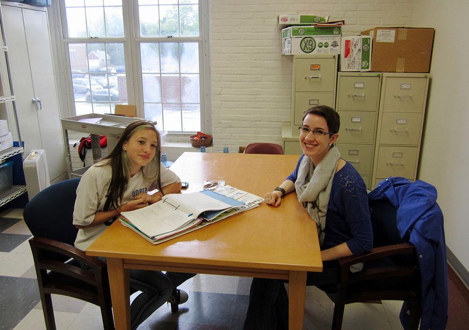 Mentor Stories: Hannah & Steffi